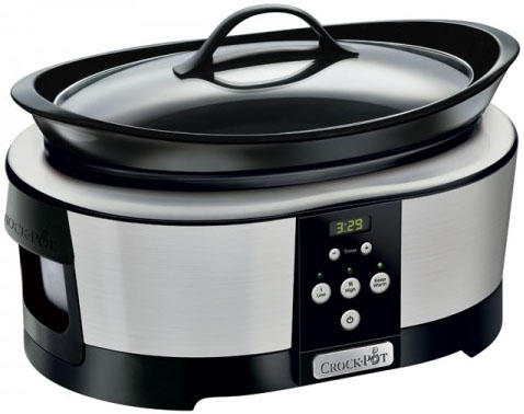 Crock-Pot SCCPBPP605 220-240 Volt 50 Hz Slow Cooker - 5.7 Liter Capacity
