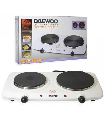 Daewoo DI-9305 220 240 Volt 50 Hz Double Electric Hot Plate
