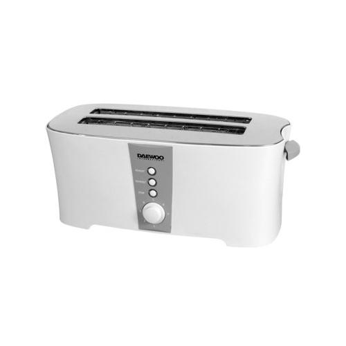 Daewoo DI9117 220 240 Volt 50 Hz 4Slice Toaster
