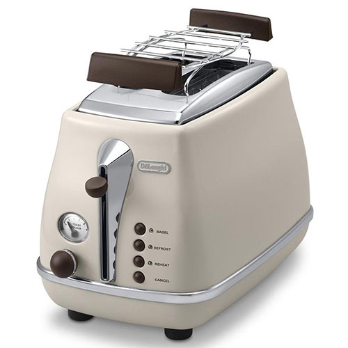 Delonghi CTOV2103BG 220-240 Volt 50 Hz ICONA VINTAGE Toaster