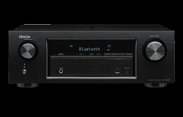 Denon AVR-X520 220 Volt 240 Volt 50 Hz Audio Video Receiver - World