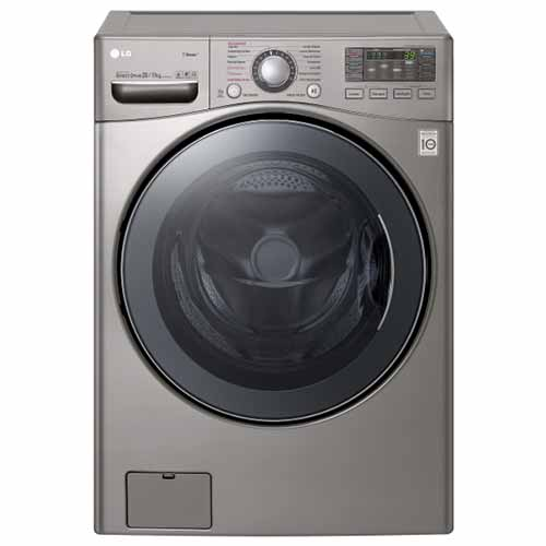 LG F0K2HK5T2 220-240 Volt Washer and Dryer Combo - 16 Kg Washing and 10 Kg Drying Capacity -