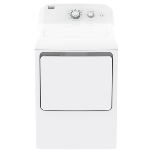Frigidaire Electrolux MKR62GWTWB 220-240 Volt American Style Front Load Dryer
