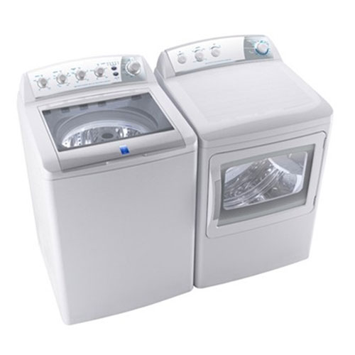 Frigidaire / Electrolux MLTU16GGAWB & MKRN15GWAWB 220 Volt 240 Volt 50 Hz Washer and Dryer Set