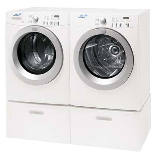 Frigidaire MLF125BZK & MDE675NZHS 220 Volt 240 Volt 50 Hz Washer and Dryer Set