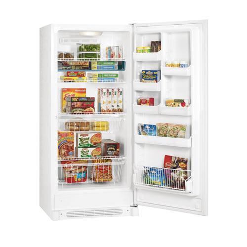 Frigidaire MRA21V7HW 220 Volt 240 Volt 20.5 Cu Ft White Full Refrigerator No Freezer
