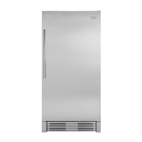 Frigidaire MRAD19v9KS 220 Volt 240 Volt 50 Hz 18.5 Cu Ft Stainless Steel Full Refrigerator No Freezer