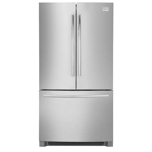Frigidaire MSBH30V7LS 220 Volt 240 Volt 50 Hz 27.8 Cu Ft Stainless Steel French Door Refrigerator