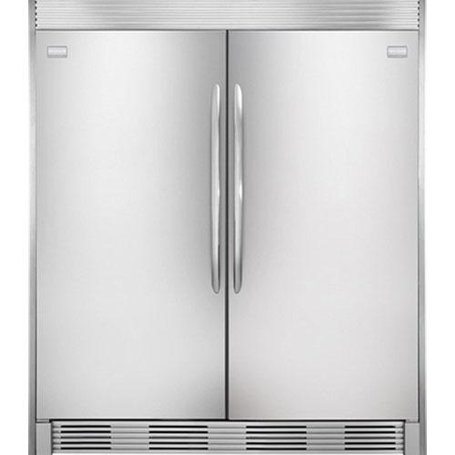 Frigidaire MUFD19V9KS 220-240 Volt 50 Hertz Side by Side Freezer