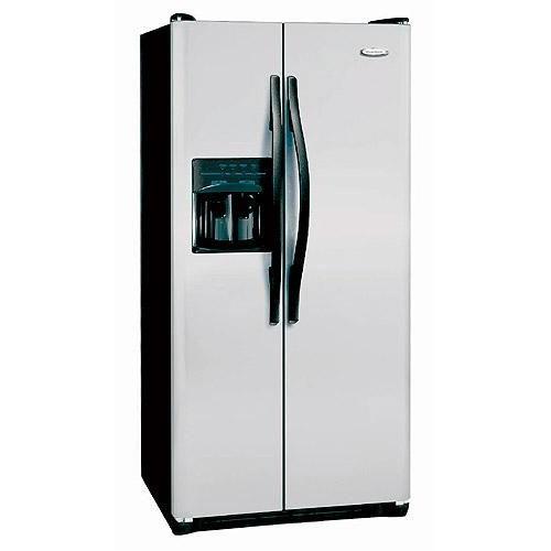 Frigidaire RSRC25V4GM 220 Volt 240 Volt 50 Hz 22.6 Cu Ft Silver Side by Side Refrigerator