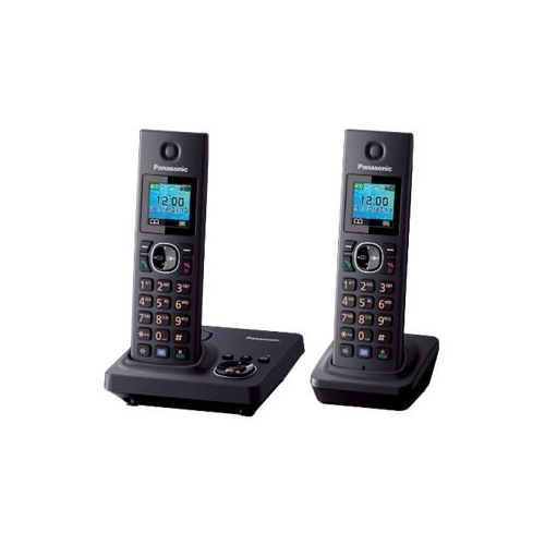 Panasonic KX-TG7862 220-240 Volt 50 Hz Cordless Phone - 2 Handoset Cordless Phone  - To Use Outside North America.