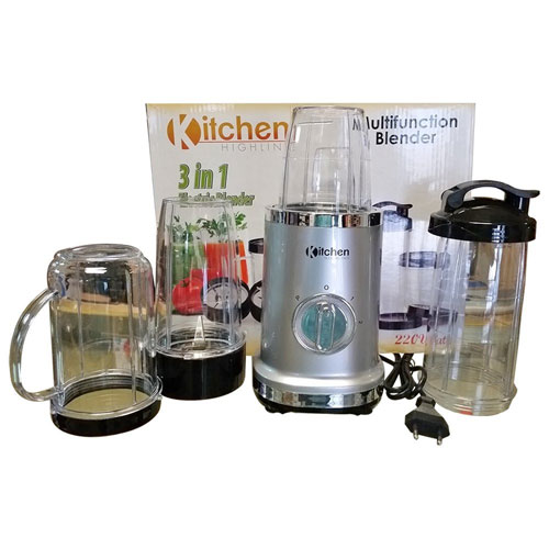 Kitchen Highline BL318AB 220-240 volts 50 Hz 3 in 1 Multifunction Blender