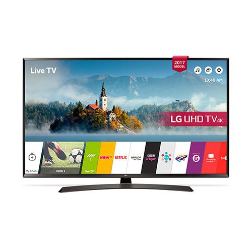 "LG 43UJ634 43"" Multi System 4K UHD SMART LED TV - 110-240 Volt 50/60 Hz - To Use World Wide"