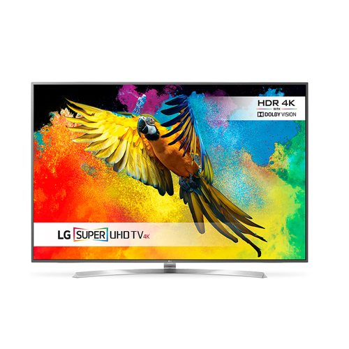 "LG 75UH855 75"" Multi System 4K UHD SMART LED TV 3840 x 2160 UHD Resolution,"