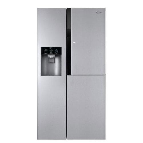 LG GCJ-257PDL 220 Volt 240 Volt Side-by-Side Refrigerator