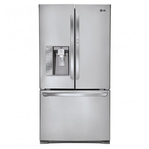 LG GR-J338LSJV 220-240 Volt 50 Hz 890-930 Liter Stainless Steel French door Refrigerator