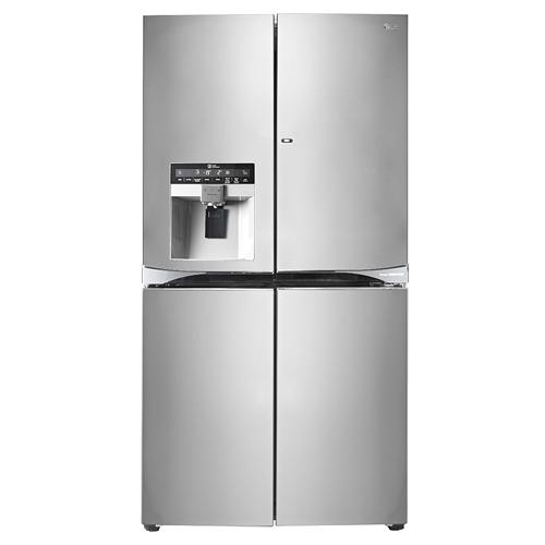 LG GR-J33FWCHL 220-240 Volt 50 Hz 4 Door French Door Refrigerator With Door in Door
