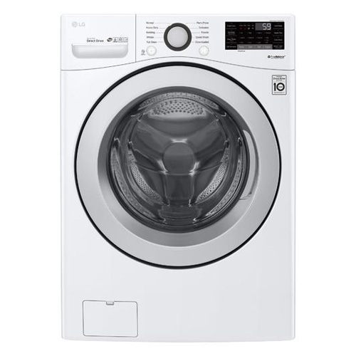 LG WM3500CW 4.5 Cu Ft 10 Cycle Front Load SMART Wi Fi Washer - White - Refurbished Version
