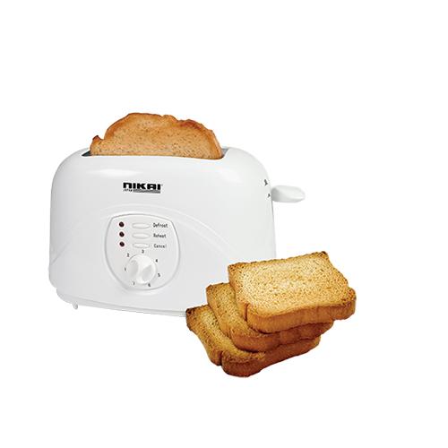 Nikai NBT530 220-240 Volt 50 Hz 2 Slice Bread Toaster
