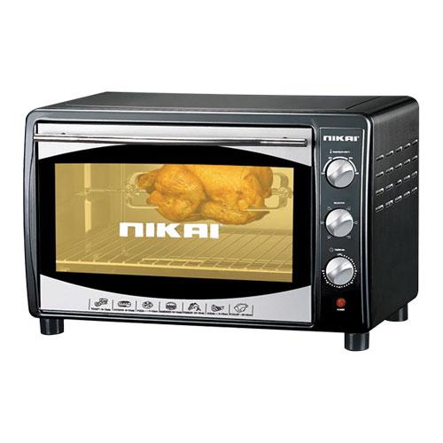 Nikai NT655N 45 Liter Toaster Oven - 60 Min Timer 220-240 Volt 50 Hz