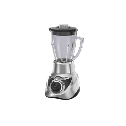 Oster BLSTEG7881C 220-240 Volt 50 Hz Silver Blender Infinite Knob with Glass Jar