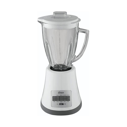 Oster BLSTMG-W 8 Speed Glass Jar 220 Volt 240 Volt 50 Hz 6 Cup Blender