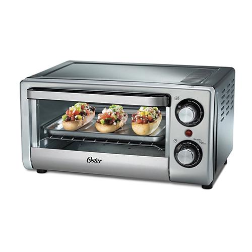 Oster TSSTTV10LTB 220-240 Volt 50 Hz 15 Liter Silver Toaster Oven