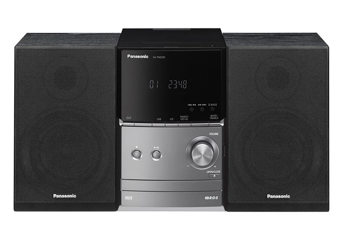 220 Volt Plug >> Panasonic SC-PM200 World Wide Voltage Micro Stereo System ...