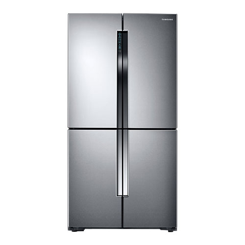 Samsung RF60J900SL 220-240 Volt 50 Hz 4 Door Stainless Steel Refrigerator - Triple Cooling