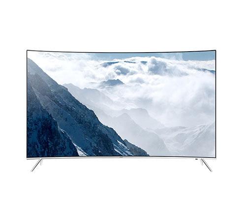 "Samsung UA-55KS8500 55"" 110-240 Volt 50/ Hz Multi System 4K SUHD Curved TV"