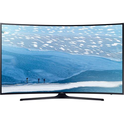 """Samsung UA-55KU7350 55"""" 110-240 Volt 50/ Hz Multi System 4K Curved UHD TV"""