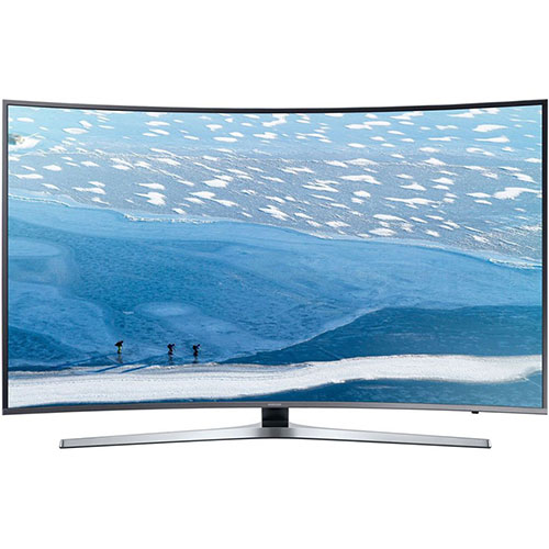 "Samsung UA-65KU7350 65"" 110-240 Volt 50/60 Hz Multi System UHD 4K Curved SMART LED TV"