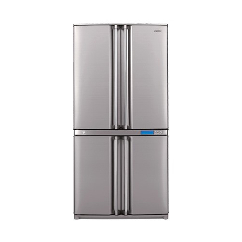 Sharp SJ-F82 220-240 volt 50 Hz 4 Doors Stainless Steel Refrigerator