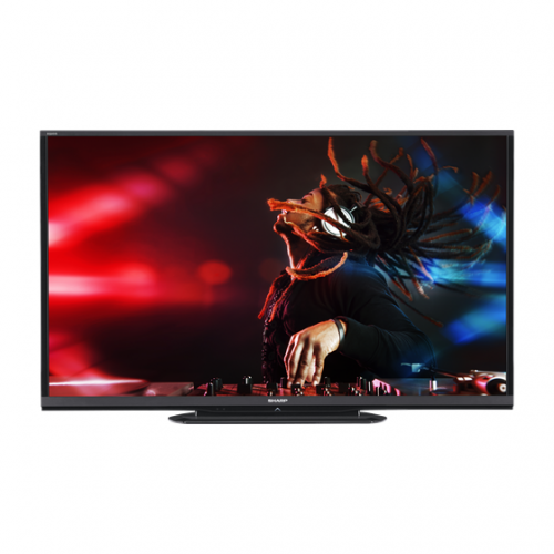 "Sharp LC-50LE458  50"" PAL NTSC SECAM Multi System Full HD LED TV"