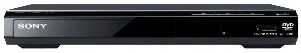 Sony DVP-SR320 Region Free DVD Player with built-in USB