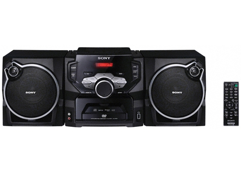 Sony Mini Stereo System with Region Free World Wide DVD Player SH-SR1D-220