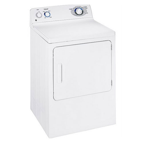 GE 220-240 Volt 50 Hertz 6 kg drying capacity European Style White Color Dryer V60EGEW