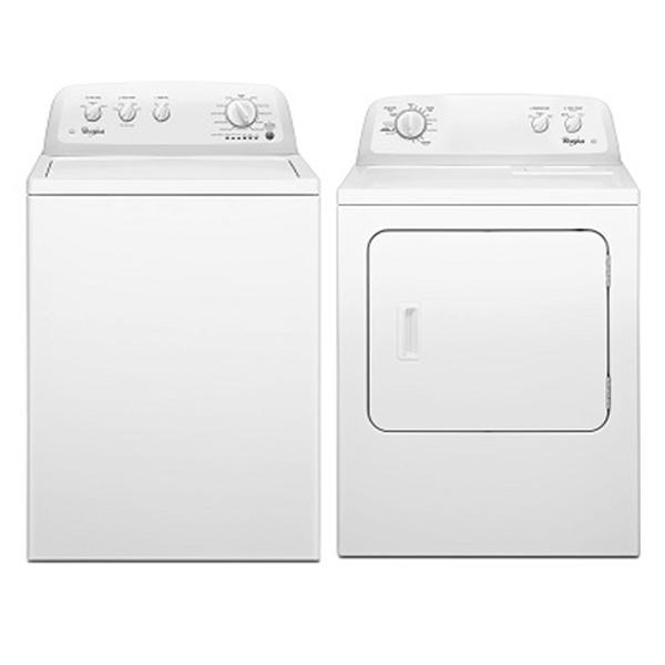 Whirlpool WTW4705FW & WED4730 220 Volt 240 Volt 50 Hz Washer and Dryer Set