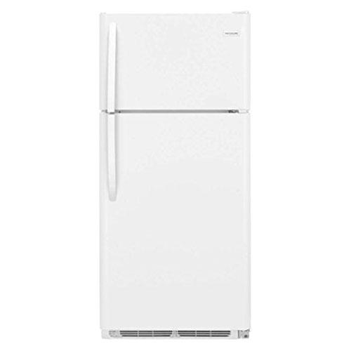 Whirlpool 5VET2WPKLQ 220-240 Volt 50 Hz 21 Cu. Ft. Textured Finish White Top Mount Refrigerator