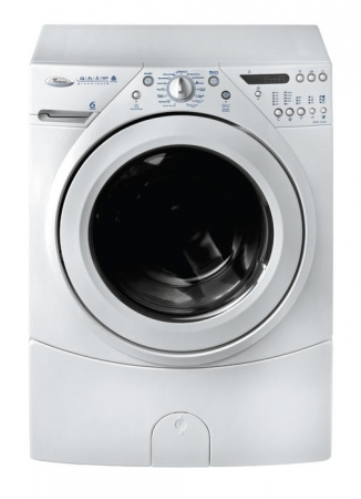 Whirlpool AWM1019 220-240 Volt 50 Hz Duet 6th Sense Front Loading Wahser