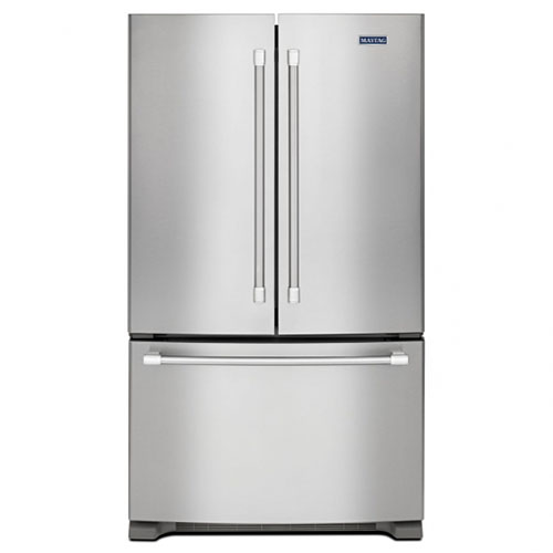Whirlpool WGFB2558EA 220-240 Volt 50 Hz 26 Cu. Ft. Sparkle Stainless Steel French Three Door Refrigerator