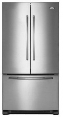 Whirlpool WGFF25PRYA SS 220 Volt 50 Hz 25 Cu. Ft. Refrigerator - To use Outside North America