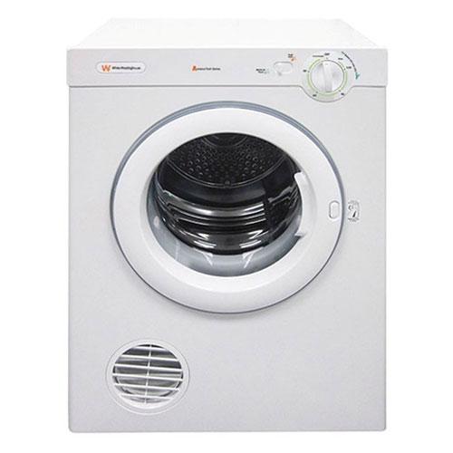 White Westinghouse WKFM06FGMW3 6 KG Front Load 220 Volt 240 Volt Dryer