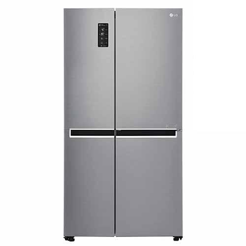 LG GC-B247SLUV 220-240 Volt 50 Hz Shiny Steel Side by Side Refrigerator
