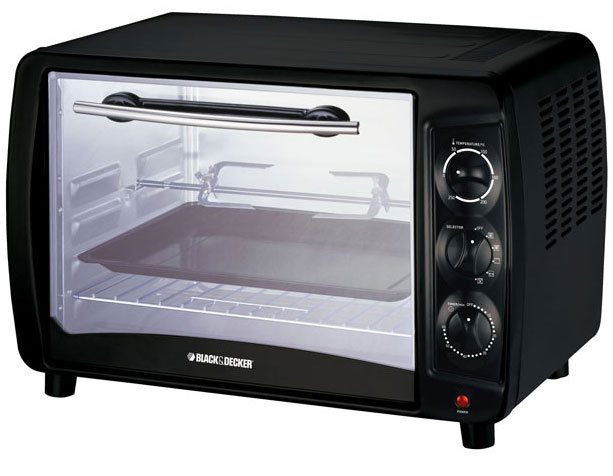 Black and Decker TR55 220-240 Volts 50 Hertz Oven