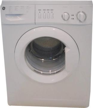 GE W12EKEW 220-240 Volt 50 Hz White Color European Style Washer
