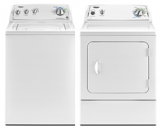 Whirlpool 4800 series 220 Volt 50 Hz Washer and Dryer Set