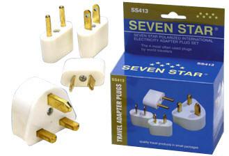 WSS413KIT World Wide Plug Adapter Kit