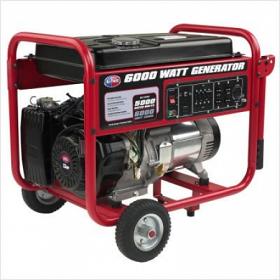 All Power APGG6000 6000 Watt Gasoline Generator