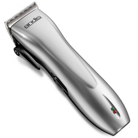 Andis 24140 Dual Voltage Silver Cord/Cordless Hair Clipper